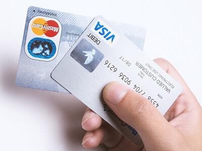 利用料金支払いに使用するクレジットカード