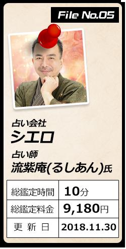 シエロ・流紫庵(ルシアン)氏