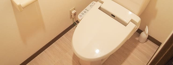 和やかな雰囲気で清潔なトイレ