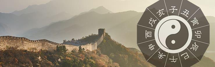 五行図と万里の長城